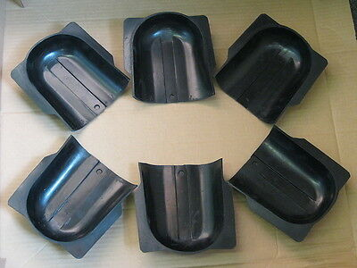 NEW Valley Dynamo Billiard Pool Table Gully Boots - Set of 6 - Coin-op Bar Table