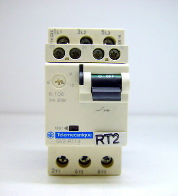 Schneider Electric Telemecanique GV2-RT14 Circuit Breaker