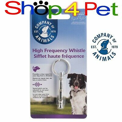 DOG SILENT WHISTLE CLIX with Training Guide Ideal for Noise Sensitive breeds PET