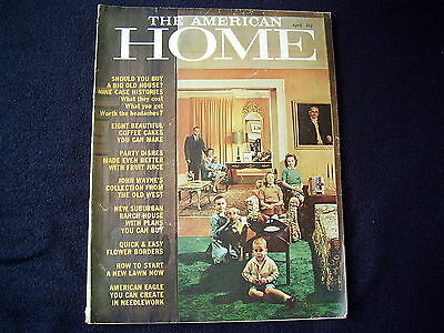 "Lovely Old Magazine~""the American Home""~1961~Decorating~Gardens~Nice Old Adverts"