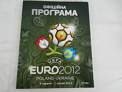 Euro 2012 Official Tournament Programme Ukraineian Language Version ( Pre Order)