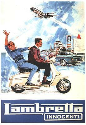 SCOOTER POSTER, 60's, mod, retro.