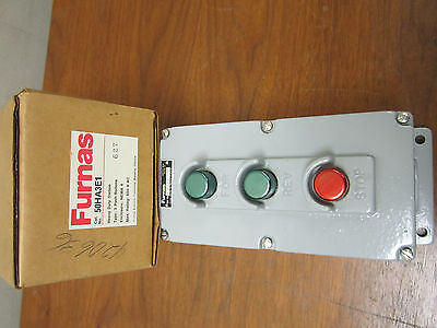Furnas Heavy Duty Push Button Station 50Ha3E1 New!!