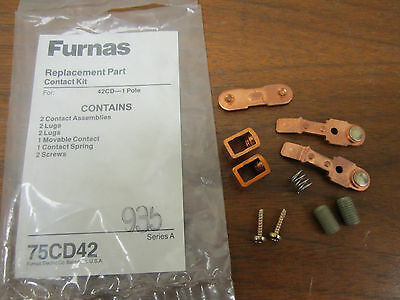 Furnas Replacement Part Contact Kit 75Cd42 New!!