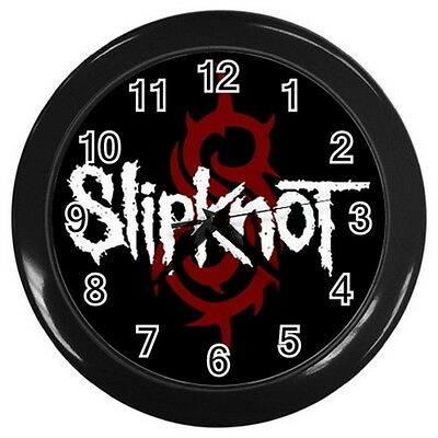 MUSIC BAND SLIPKNOT Round Large wall clock Black Collection Gifts New Year