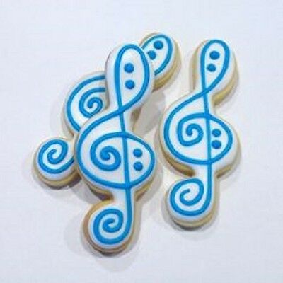 G CLEF MUSICAL NOTE cookie cutter