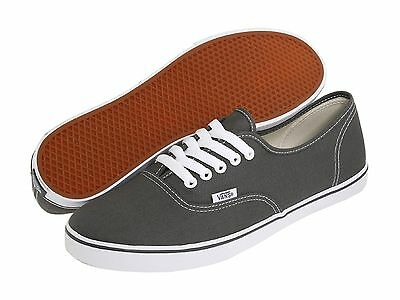 8815e78ad295 Women Vans Authentic Lo Pro Canvas Pewter True White 100% Authentic Brand  New
