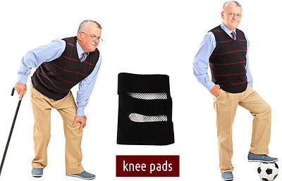 Self Heating Tourmaline Knee Pads (a pair) Ease Knee Pain Caused by Arthritis