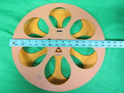 "15""  2000 ft capacity 35mm Plastic Motion Picture Reel"