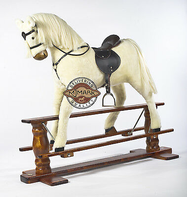 "LUXURIOUS VERY LARGE Rocking Horse ""SUN II""  MJMARK"