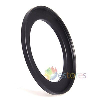 43mm-49mm 43-49mm 43 to 49 Metal Step-Up Camera Lens Filter Ring Adapter Black