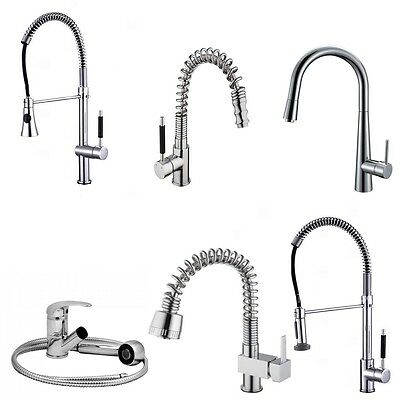 Modern Kitchen Sink Pull Out Mixer Tap Faucet