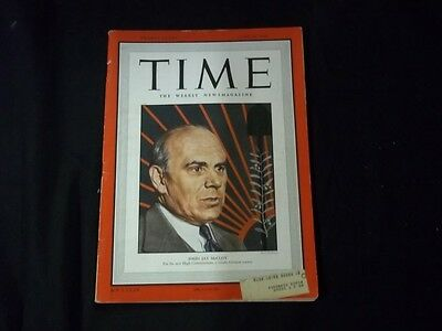 1949 JUNE 20 TIME MAGAZINE - JOHN JAY MCCLOY - FRONT COVER - F 979