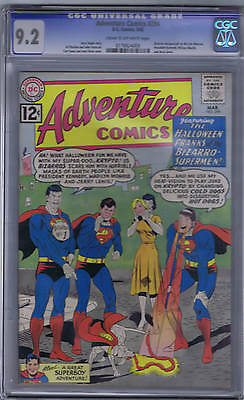 Adventure Comics #294 DC 1962 CGC 9.2 Marilyn Monroe,President Kennedy