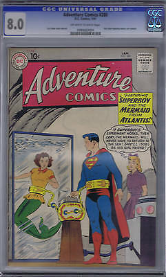 Adventure Comics #280 DC 1961 CGC 8.0