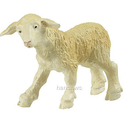 Papo 51023 Newborn Lamb Sheep Farm Animal Toy Figurine