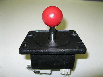 NEW HAPP MS PacMan/Galaga Red Top Joystick Replacement for Arcade Multicade Game