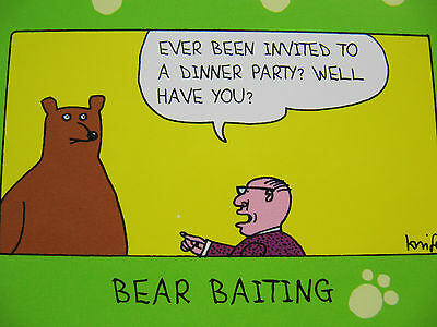 Choice Of 11 Colourful Fantastic Funny Birthday Blank Greeting Cards