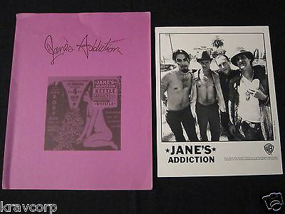Jane's Addiction 'kettle Whistle' 1997 Press Kit--Photo
