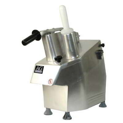 New Heavy Duty Commercial Vegetable Cutter Grater Shredder 7 Cutting Blades