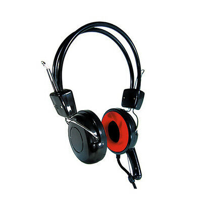 ROBUST PC Laptop Headphone Headset with Microphone Mic