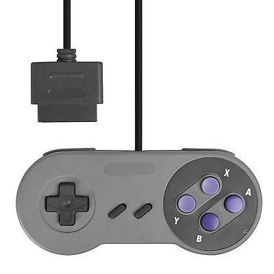 16 Bit Classic Controller for Super Nintendo SNES System Console