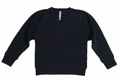 Elfindollkids Boys Knitted Jumper/Sweater 100% Cotton in Green/Blue/Grey SZ 2-12