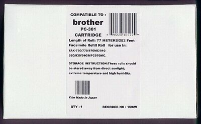 PC-301 Fax Cartridge for Brother 750 770 775 870 885 910 920 921 925 930 931 940