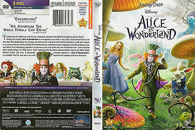 "Mia Wasikowska ""Alice in Wonderland"" Autographed DVD Cover w/Coa"