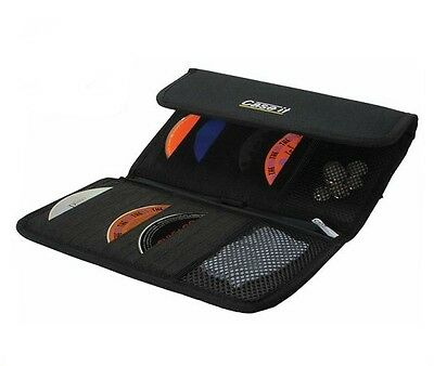 New Nylon Car Visor 24 CD DVD Blu-Ray Storage Case. High Quality