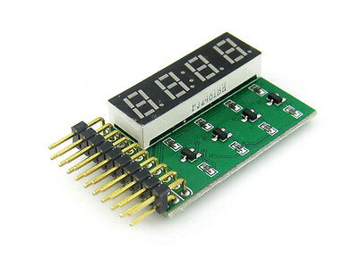 8 SEG LED Board Four 8-Segment Digits Digital Display information Eg:Time Module