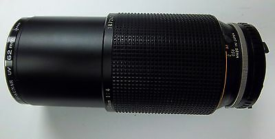 Nikon Camera Lens Series E Zoom 70-210mm 1:4  With UV Filter Excellent Condition