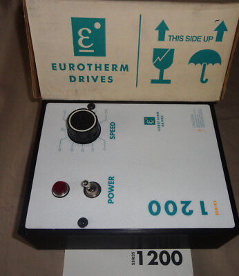 Eurotherm Drives 12211-Dn11 Nrg Scr Drive 1 Hp Dc Electric Motor Control New