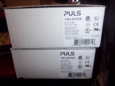 PULS YR2.Diode Redundancy Module In Stock, Ready to Ship