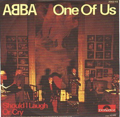 "ABBA  One Of Us & Should I Laugh Or Cry?  PICTURE SLEEVE 7"" 45 rpm BRAND NEW"