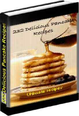 232  Pancake Recipes eBook
