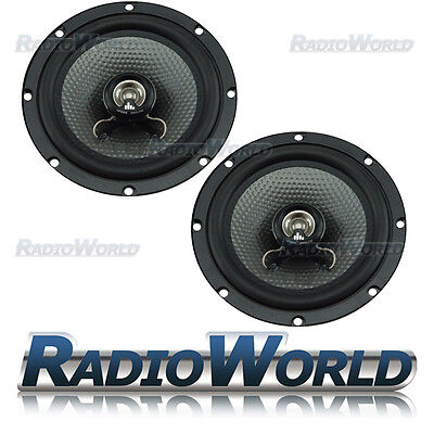 FLI Underground 6.5 inch 16.5CM 300w 2-Way Car Door /Shelf Speakers Pair FU6