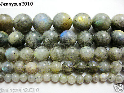 Natural Labradorite Gemstone Round Beads 15.5'' 2mm 3mm 4mm 6mm 8mm 10mm 12mm