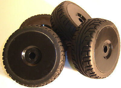 B7033B 1/8 Scale Car Buggy On Road Wheels and Tyres RC Nitro Buggy Black 4