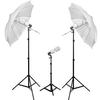 JensenBest Photo Studio Umbrella Lighting Kit 975W For Photography And Video