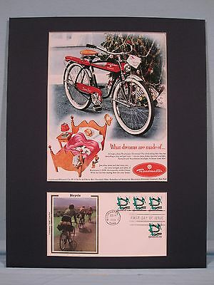 The Roadmaster Bicycle of the 1950's & First Day Cover