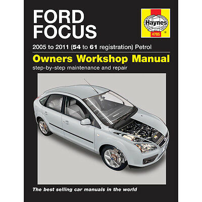 Ford Focus 1.4 1.6 1.8 2.0 Petrol 05-09 (54-09 Reg) Haynes Manual