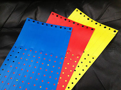 ThumbGuard Thumb Sucking Plastic Wristbands - Primary Colors - Red, Yellow, Blue