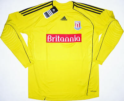 27c8b458b Stoke City GK Football Shirt Soccer Jersey Top Kit England NEW Player Issue