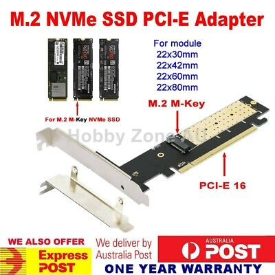2013 Apple MacBook Pro + Air SSD to PCIE PCI-e 4X Converter Adapter Add-on Card