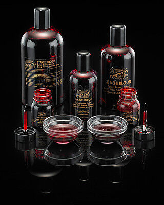 Mehron Stage Blood Tv Movie Special Effects Fake Blood Makeup 1Oz 4.5Oz 9Oz 16Oz