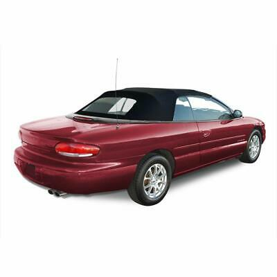 1996 2006 new chrysler sebring convertible soft top heated glass 1996 2000 new chrysler sebring convertible soft top with glass window black publicscrutiny Images