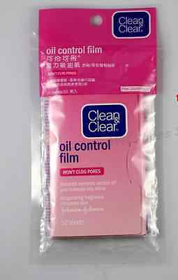 Clean & and Clear Oil Control Film Blotting Paper Face (50 Sheets) (Grapefruit)