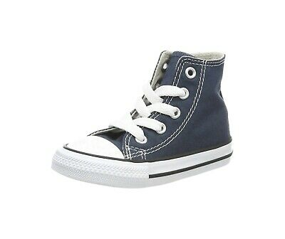 Converse Shoes All Star Chuck Taylor Baby Infant Boys Navy Hi Top Canvas Sneaker