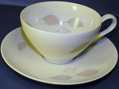 Rosenthal KPM Krister German Fine China Cup & Saucer RARE Abstract Pattern NICE